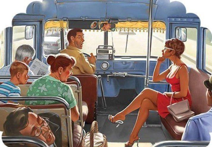 как передать автобус в аренду