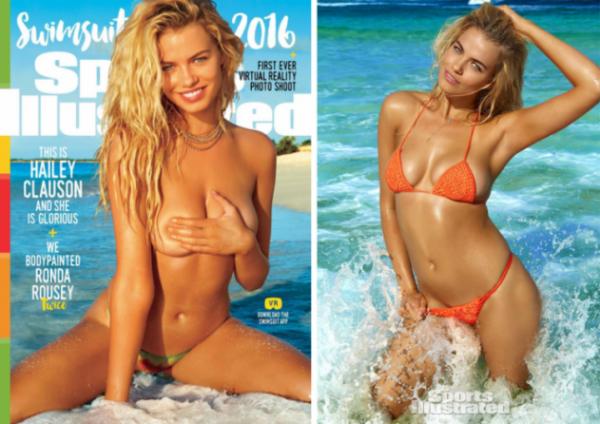 Впервые  на обложке журналов появились Модели Размера Плюс